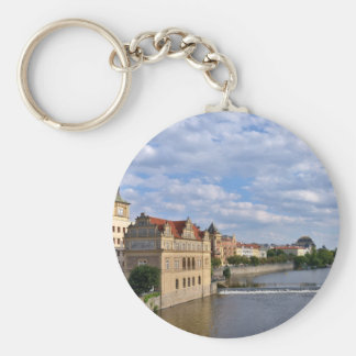 River side of Prague, Republic Czech, Keychain