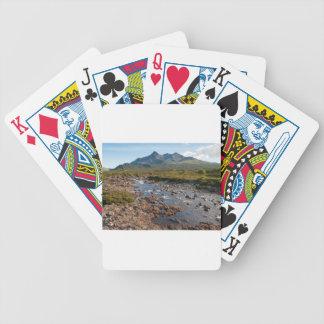 River Sligachan, Isle of Skye, Scotland Bicycle Playing Cards