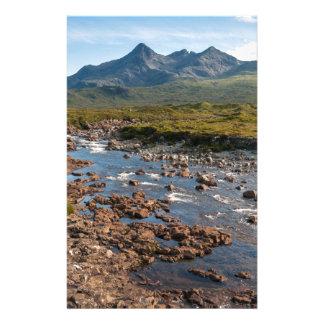 River Sligachan, Isle of Skye, Scotland Stationery Design