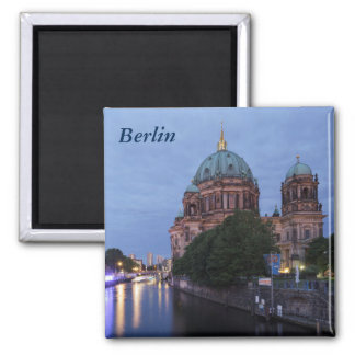 River Spree and Cathedral in Berlin, Germany Magnet