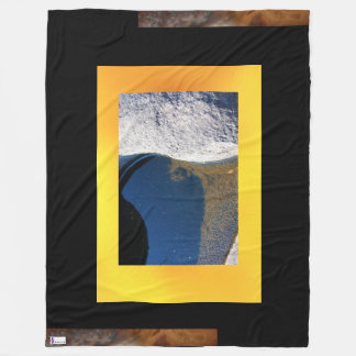 River Stone Fleece Blanket