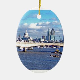 River Thames Ceramic Ornament