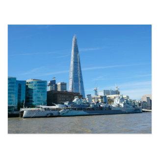 River Thames, London UK Postcard