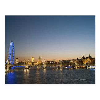 River Thames Postcard
