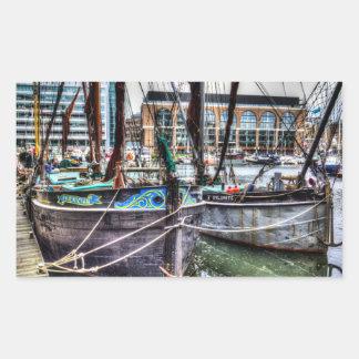 River Thames Sailing Barges.