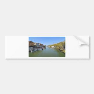River Tiber in Rome, Italy Bumper Sticker