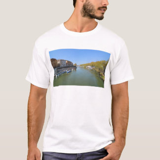 River Tiber in Rome, Italy T-Shirt