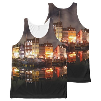 River Town Dance All-Over-Print Tank Top