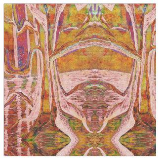 River Tree Fabric - autumn glow