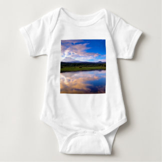 River Trout Lake Mount Adams Baby Bodysuit