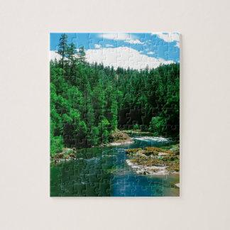 River Umpqua Douglas County Oregon Jigsaw Puzzle