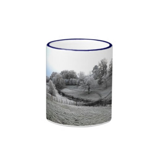 River Valley one frosty morning Mugs