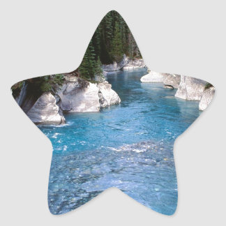 River Vermillion Kootenay Canada Star Sticker