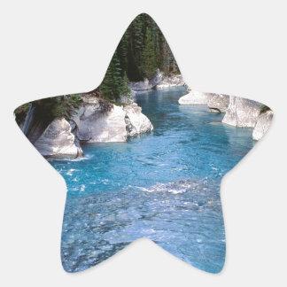 River Vermillion Kootenay Canada Star Sticker