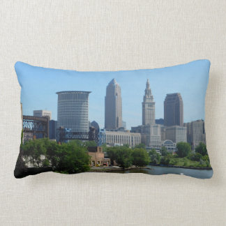 River View Cleveland Ohio Pillow