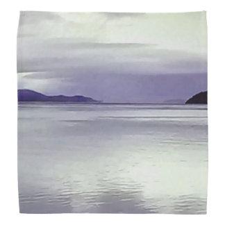 River View in Purple Bandana