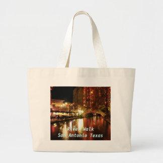 River Walk San Antonio Texas Large Tote Bag