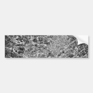 River Water Ripples Bumper Sticker