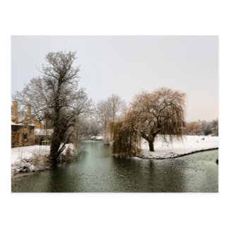 River Welland Winter Postcard