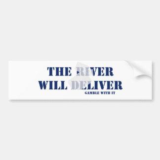 River Will Deliver Car Bumper Sticker