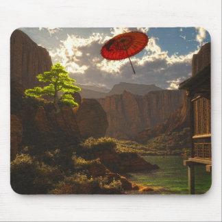 River Wind Mouse Pad