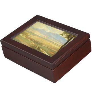 "Rivera's ""Avila Morning"" custom keepsake box"