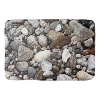 Riverbed Rocks Bath Mat