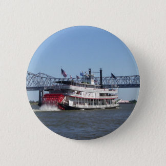 Riverboat 2 Inch Round Button