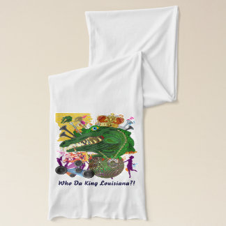 Riverboat Queen and Gator Loisiana Scarf