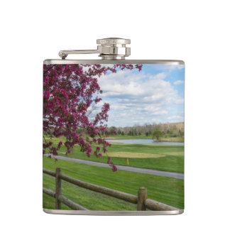 Rivercut In Spring Flasks