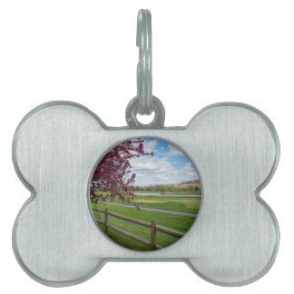 Rivercut In Spring Pet Tag
