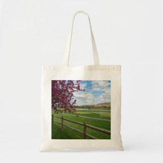 Rivercut In Spring Tote Bag