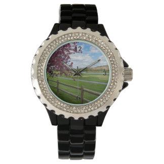 Rivercut In Spring Wristwatches
