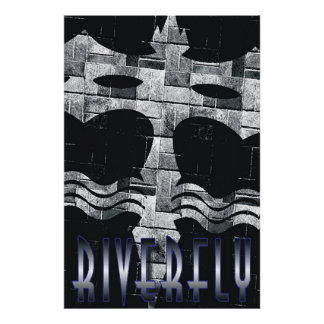 Riverfly Brick Poster