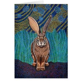 Riverine Rabbit Greeting Card