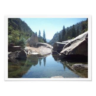 """Rivers and Rocks"" Yosemite Valley Photo Print!"