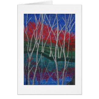 """Rivers Edge"" Card"