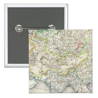 Rivers of Asia 2 Inch Square Button
