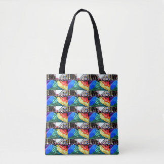 Rivers of Rainbows Tote Bag