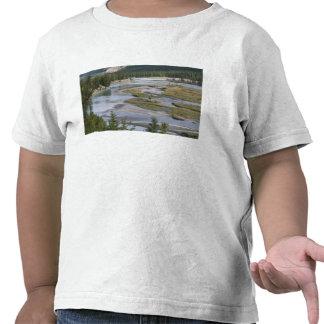 Rivers run through a lowland section of Jasper Tee Shirts