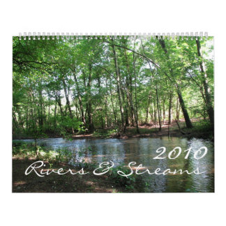 Rivers & Streams 2010 Wall Calendar