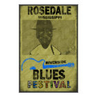 Riverside Blues Festival Poster