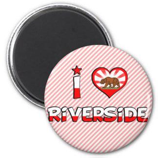 Riverside, CA 2 Inch Round Magnet