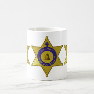 Riverside County Sheriff Badge Coffee Mug