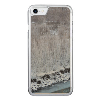 Riverside Frozen Carved iPhone 8/7 Case