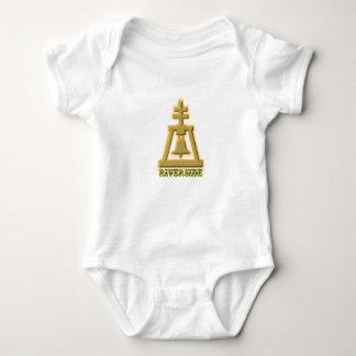 Riverside Raincross Baby Bodysuit