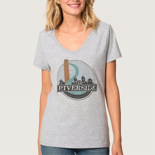 #riversideatl Women's V-neck T-shirt