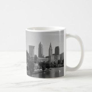 Riverview Cleveland B&W Mug