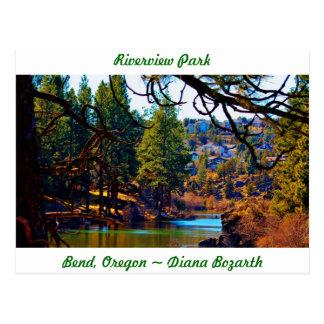 Riverview Park Bend Oregon Postcard