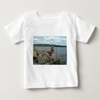Riverwalk Dubuque Iowa Mississippi River Baby T-Shirt